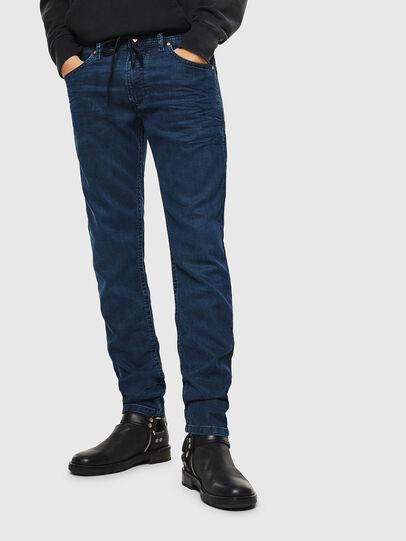 Diesel - Thommer JoggJeans 0688J, Dark Blue - Jeans - Image 1