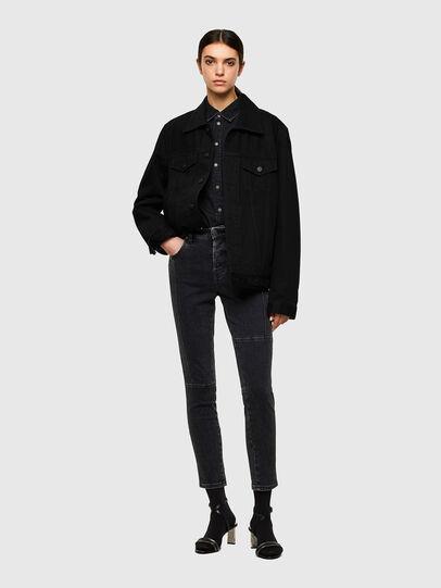 Diesel - Babhila 009UZ, Black/Dark grey - Jeans - Image 5