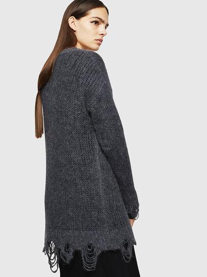 Diesel - M-ANDREA, Grey - Knitwear - Image 2