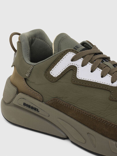 Diesel - S-SERENDIPITY LC, Olive Green - Sneakers - Image 4