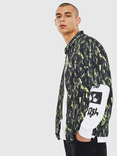 Diesel - S-ATWOOD-GLOVY, Green - Shirts - Image 6