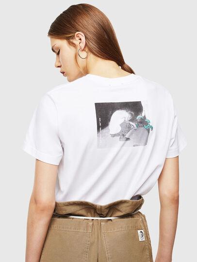 Diesel - T-DIEGO-J20, White - T-Shirts - Image 4