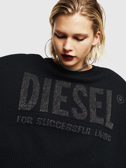 Diesel - M-LUREXY, Black - Knitwear - Image 3