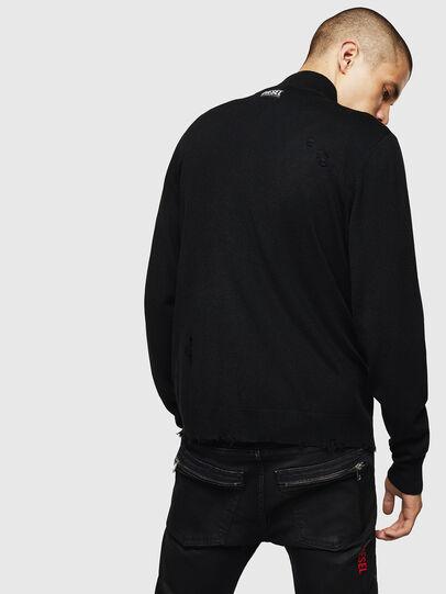 Diesel - K-ECLY, Black - Knitwear - Image 2