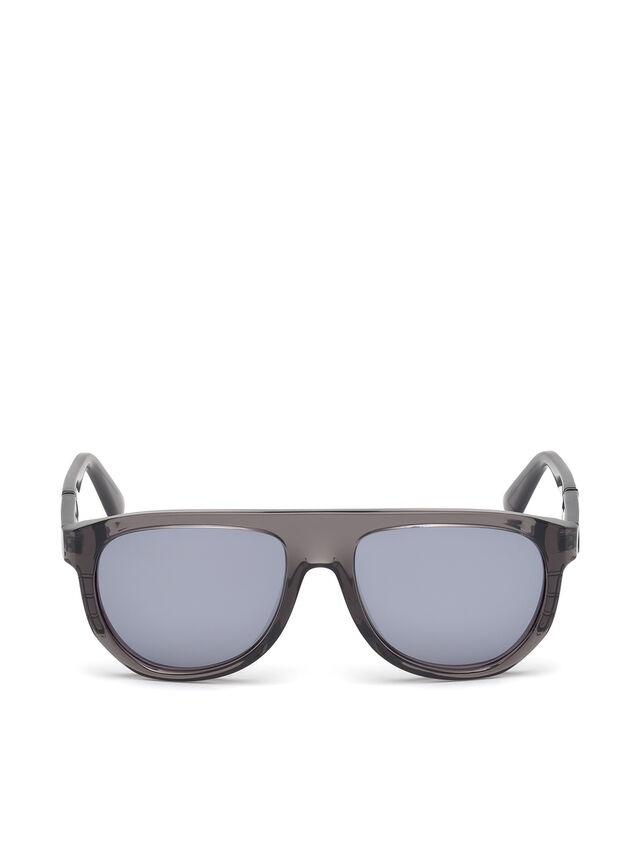 Diesel - DL0255, Grey - Sunglasses - Image 1