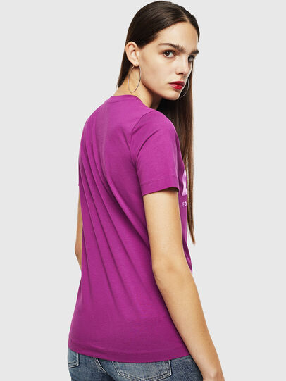 Diesel - T-SILY-WX, Violet - T-Shirts - Image 2