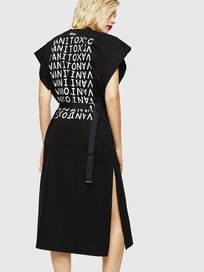 Diesel - D-FLIX-B, Black - Dresses - Image 2