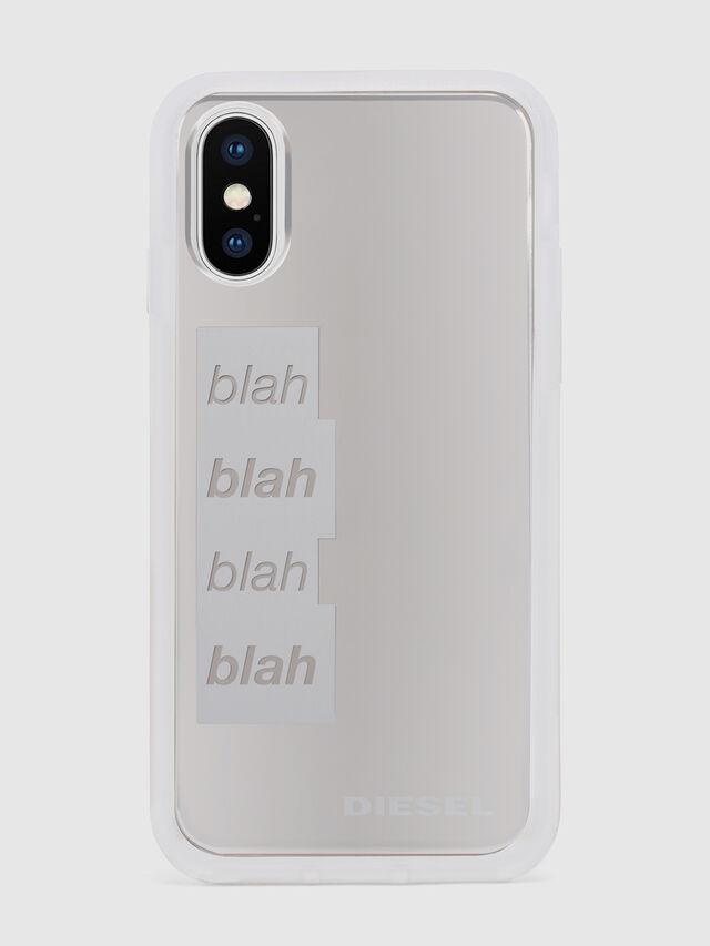 Diesel - BLAH BLAH BLAH IPHONE X CASE, White - Cases - Image 2