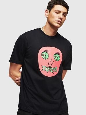 T-JUST-B27, Black - T-Shirts