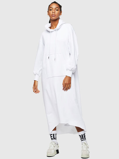 Diesel - D-ILSE-TWIST-COPY, White - Dresses - Image 1