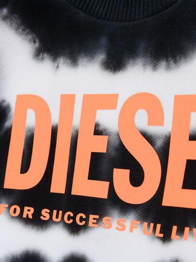 Diesel - SOBEZB, Black/White - Sweaters - Image 3