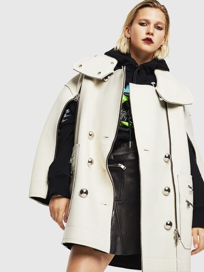 Diesel - W-UDAMYS, White - Winter Jackets - Image 8