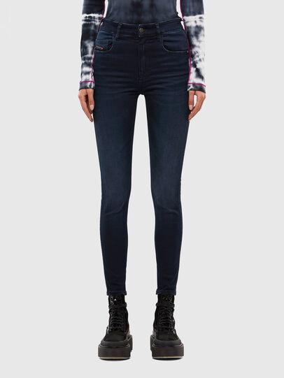 Diesel - Slandy High 009JG, Dark Blue - Jeans - Image 1