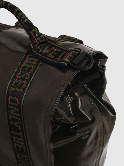 Diesel - MARBACK, Olive Green - Backpacks - Image 5
