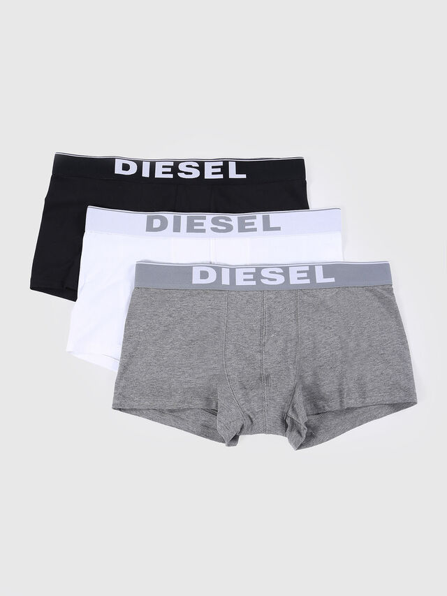 Diesel - UMBX-KORYTHREEPACK, White/Black - Trunks - Image 1