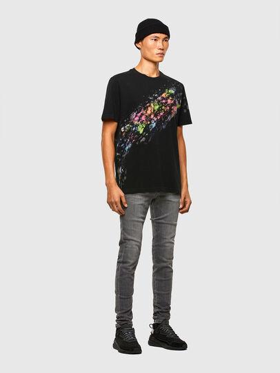 Diesel - D-Amny 009NZ, Black/Dark grey - Jeans - Image 5