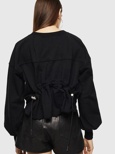 Diesel - F-MONDY, Black - Sweaters - Image 2