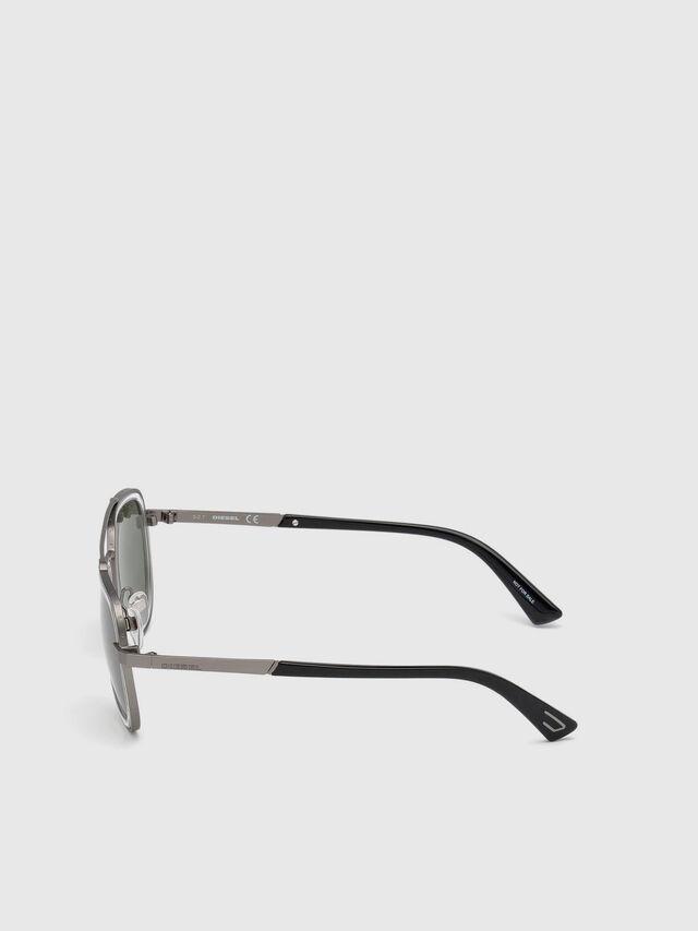 Diesel - DL0266, Black/Grey - Eyewear - Image 3