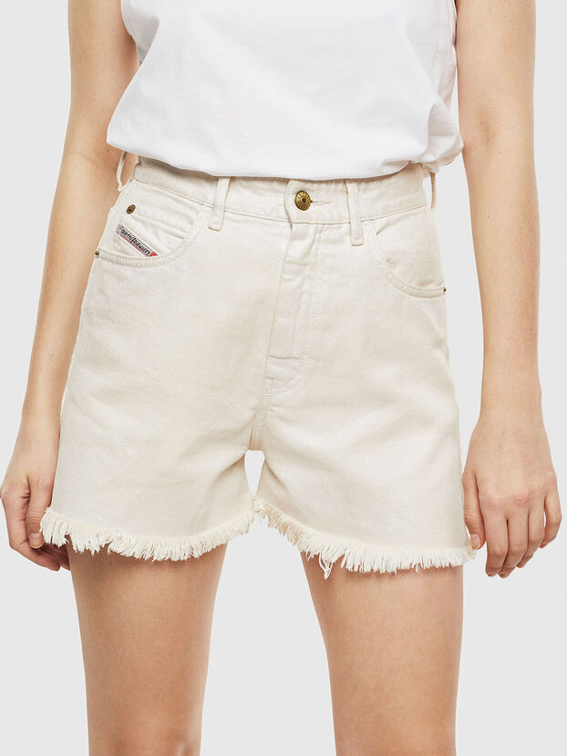 DE-EISELLE, White - Shorts