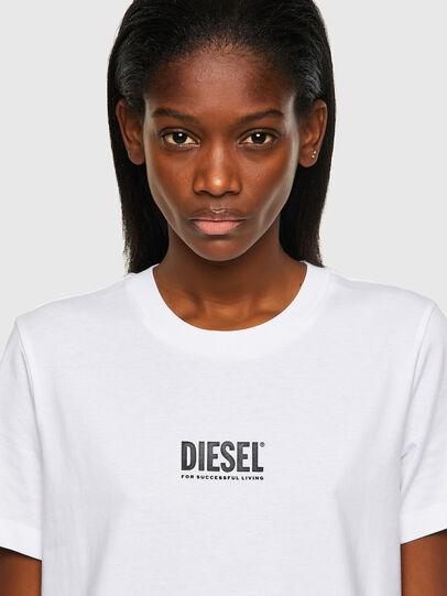 Diesel - T-SILY-ECOSMALLOGO, White - T-Shirts - Image 3