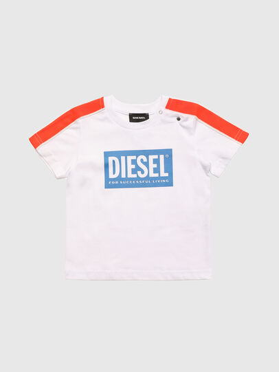 Diesel - TANGEB, White - T-shirts and Tops - Image 1