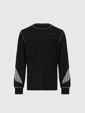 T-JUSEAM-LS, Black - T-Shirts