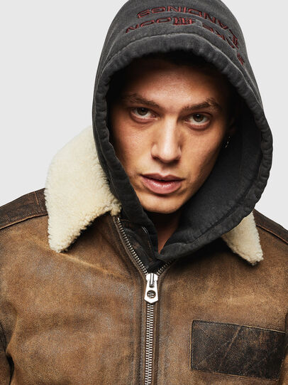 Diesel - L-OIUKIRO,  - Leather jackets - Image 6