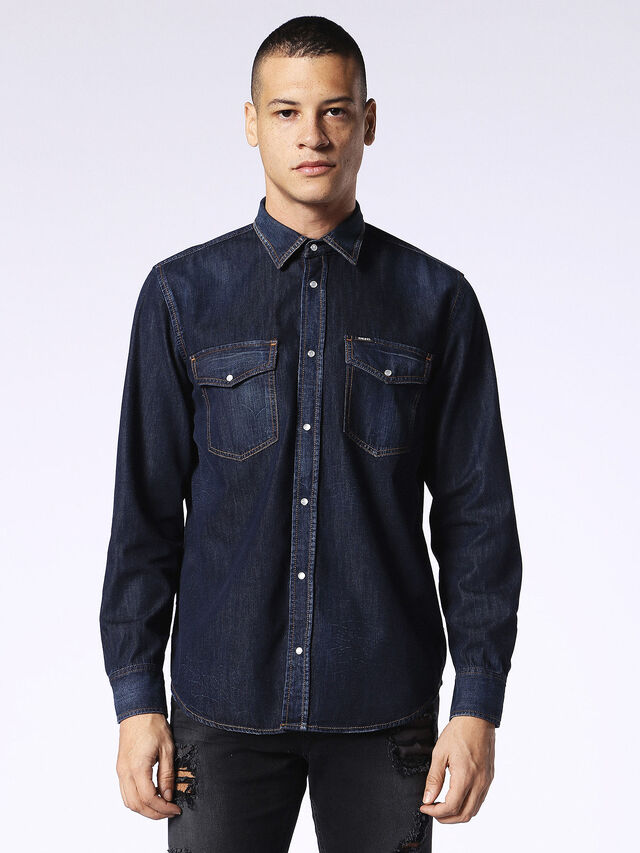 D-ROOKE, Dark denim