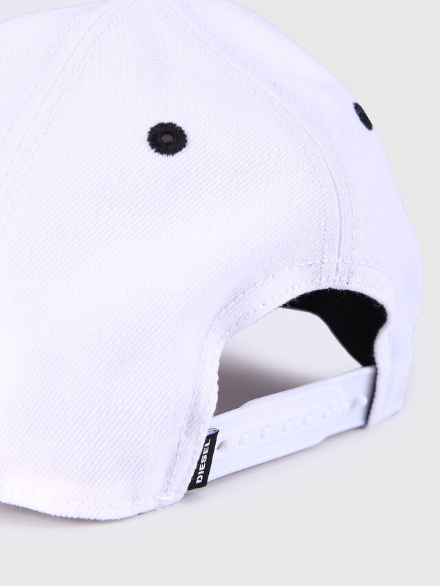 Diesel - CAKERYM, White - Caps, Hats and Gloves - Image 3