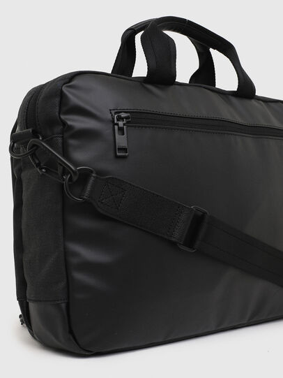 Diesel - D-SUBTORYAL BRIEF, Black - Briefcases - Image 6