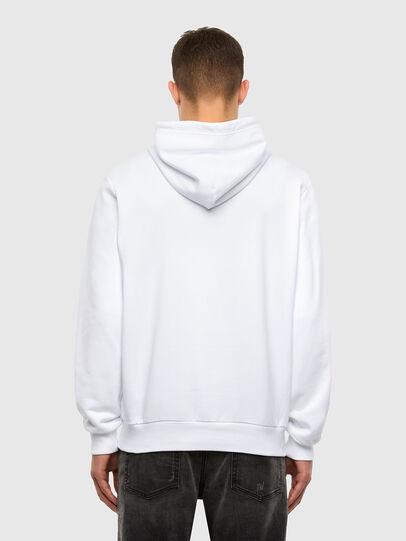 Diesel - S-GIRK-HOOD-N1, White - Sweaters - Image 3