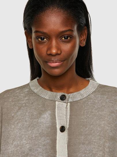 Diesel - M-CAROLINA, Light Grey - Knitwear - Image 4