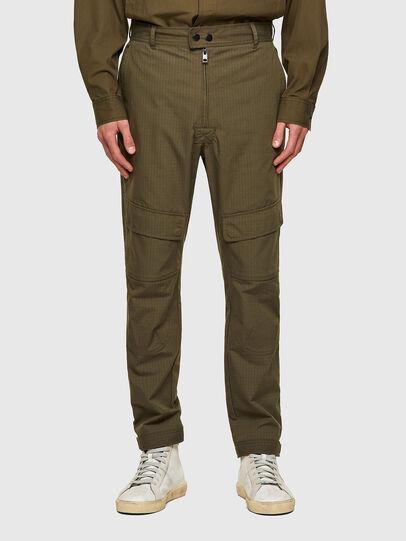 Diesel - P-SIDE, Military Green - Pants - Image 1