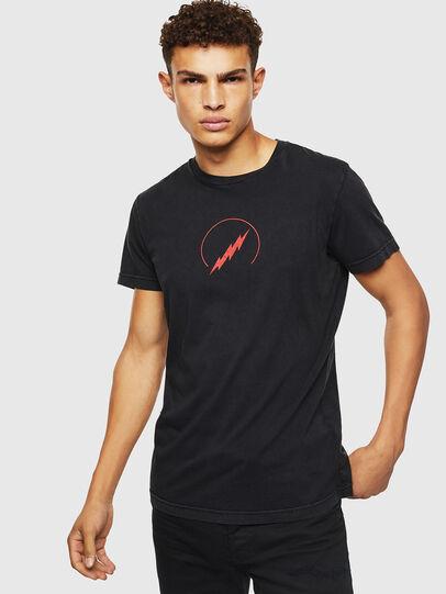 Diesel - T-DIEGO-J5, Black - T-Shirts - Image 1