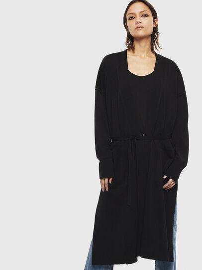Diesel - M-JAPPY, Black - Knitwear - Image 1