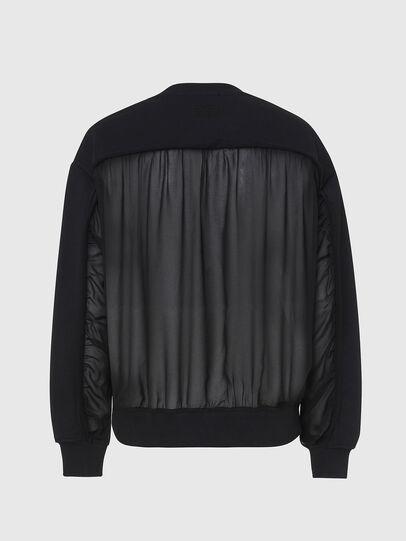 Diesel - F-BIEL, Black - Sweaters - Image 2