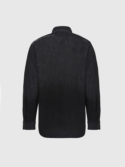 Diesel - D-NESKY, Black - Denim Shirts - Image 2