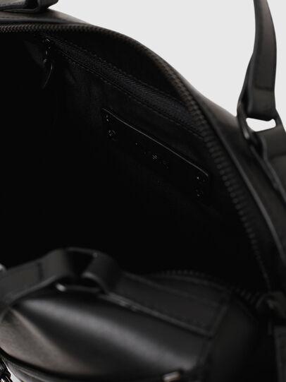 Diesel - LE-ZIPPER SATCHEL, Black - Satchels and Handbags - Image 4