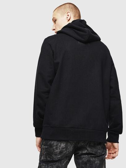 Diesel - S-GIRK-HOOD-J2, Black - Sweaters - Image 2