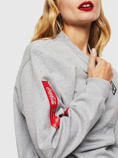 Diesel - CC-S-BAY-COLA, Grey - Sweaters - Image 5