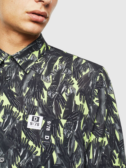 Diesel - S-ATWOOD-GLOVY, Green - Shirts - Image 7