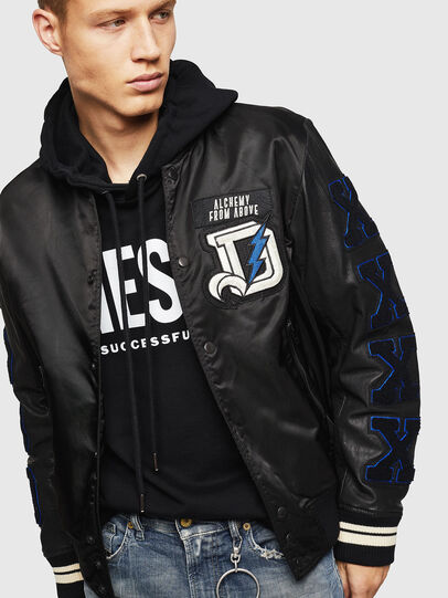 Diesel - L-KHARKOV,  - Leather jackets - Image 7
