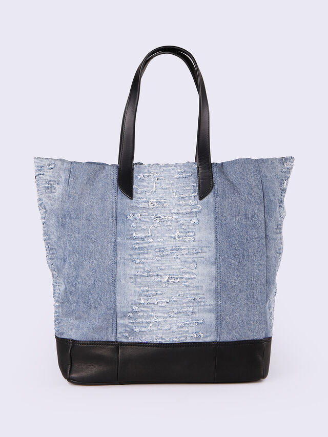 M-MOHICANEYE TOTE, Blue jeans
