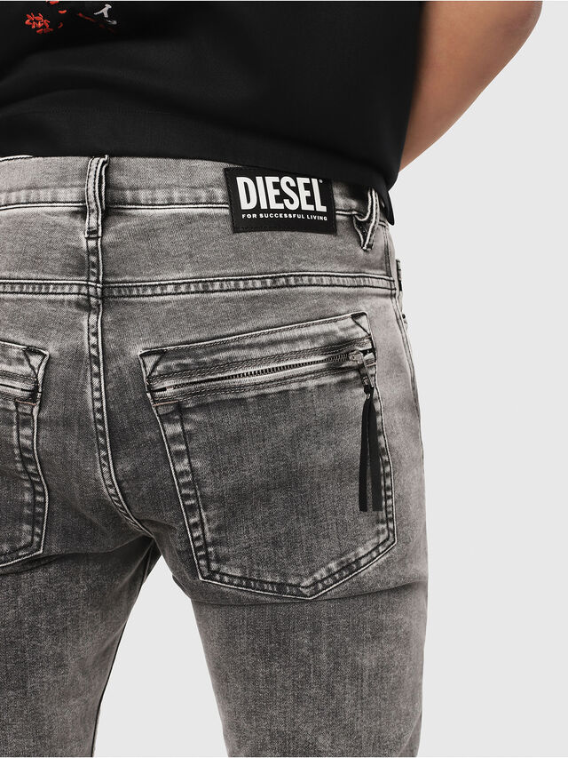 Diesel - D-Amny 069FJ, Black/Dark grey - Jeans - Image 3