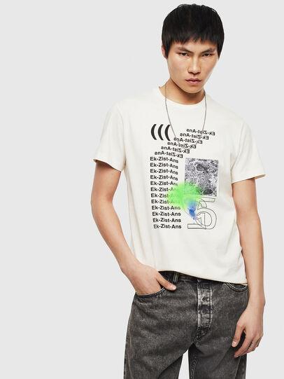 Diesel - T-DIEGO-S11, White - T-Shirts - Image 4