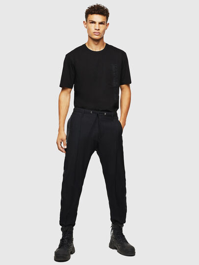 Diesel - T-JUST-POCKET-J1, Black - T-Shirts - Image 5