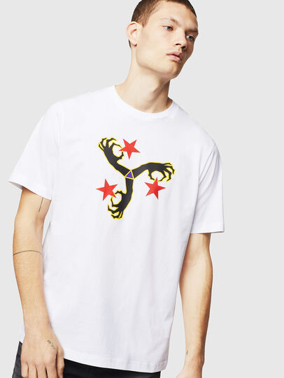 Diesel - T-JUST-A12, White - T-Shirts - Image 1