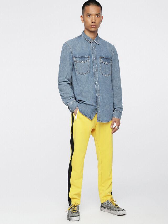 Diesel D-ROOKE, Blue Jeans - Denim Shirts - Image 4