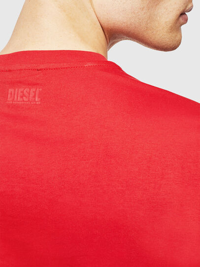 Diesel - T-DIEGO-J1, Red - T-Shirts - Image 4