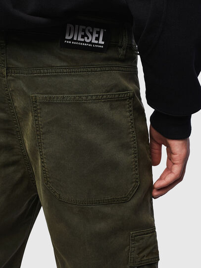 Diesel - D-Krett JoggJeans 069LX, Military Green - Jeans - Image 3